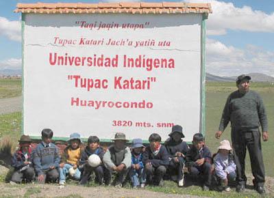 universidad indigena bolivia