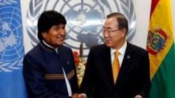 Ban Ki-moon en Bolivia