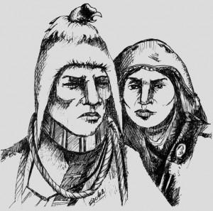 Tupac Katari y Bartolina Sisa