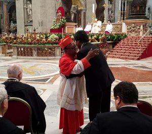 Cardenal indígena, la jerarquía de la iglesia católica boliviana, declaró que Toribio Ticona