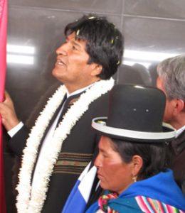 Presidente boliviano Evo Morales ayma