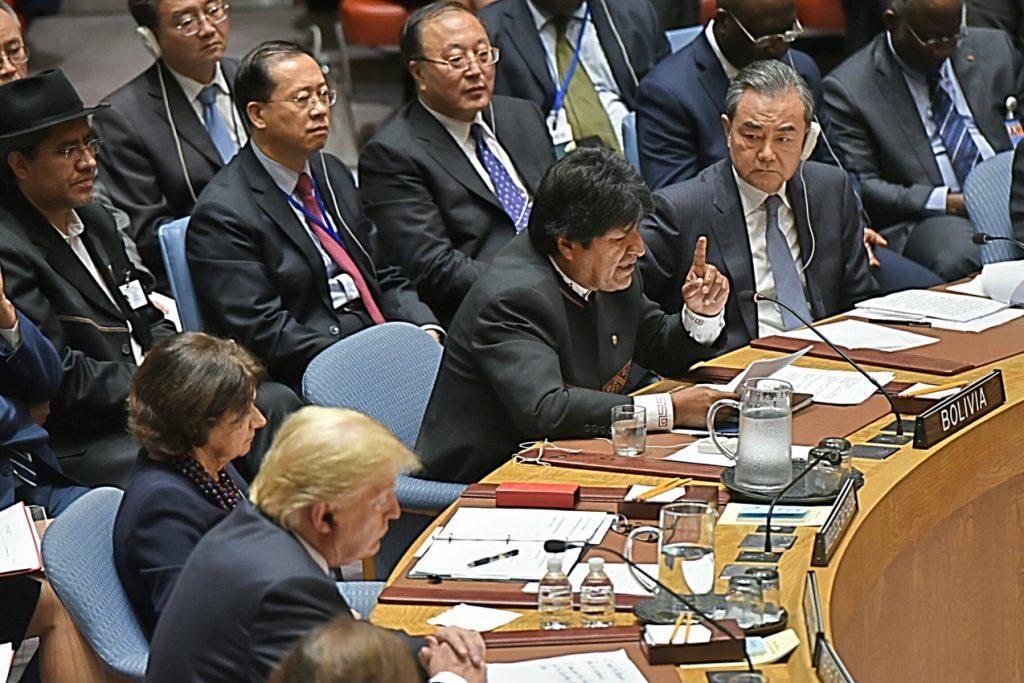 Donald Trump (EEUU) y Evo Morales (Bolivia)