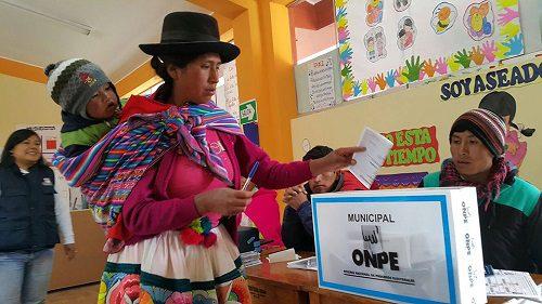 Pueblos indígenas. Perú