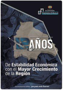 12 años de Estabilidad Económica con el Mayor Crecimiento de la Región