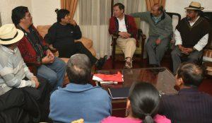 Presidente boliviano