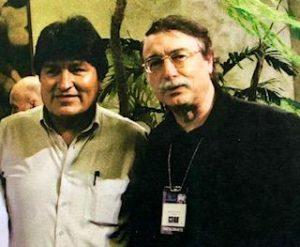Evo Morales e Ignacio Ramonet en 2006