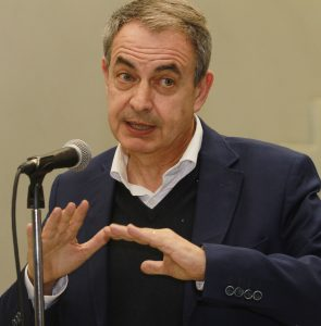 expresidente de España, José Luis Rodríguez Zapatero